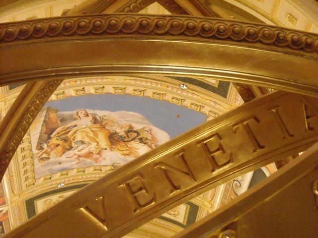 lobby of venetian hotel