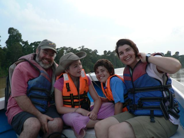 family-river
