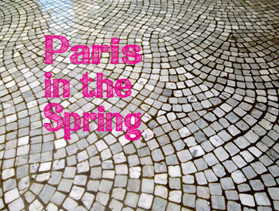pARIS IN THE SPRING PPINK